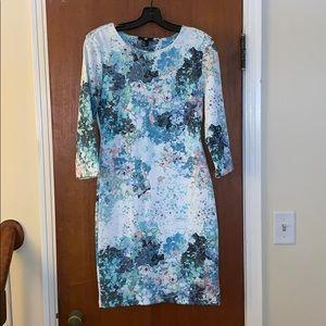 H&M modern floral dress